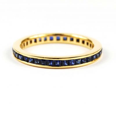 Sapphire Full Eternity Ring