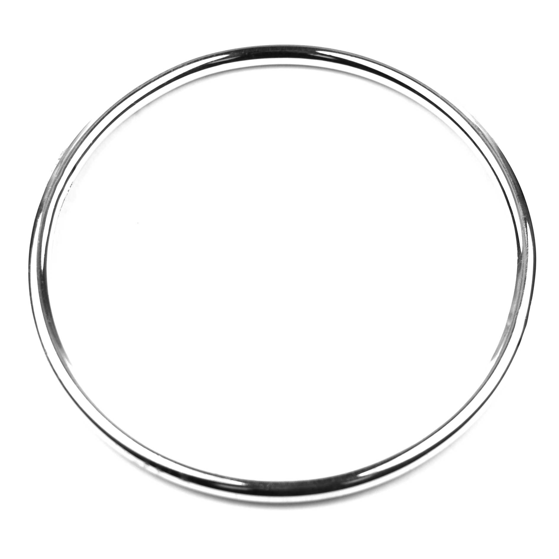 Sterling Silver 4mm Bangle