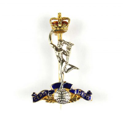 Royal Corps of Signals Sweetheart Brooch
