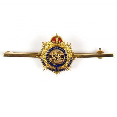 Royal Army Service Corps Sweetheart Brooch