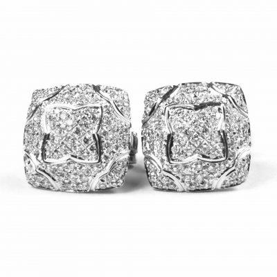 Bulgari Diamond Earrings