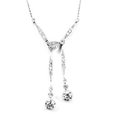 Edwardian Diamond Set Pendant