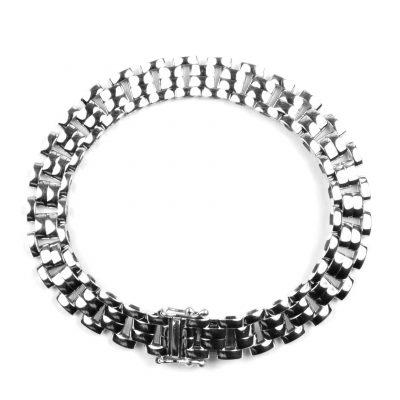 9 Carat White Gold Bracelet