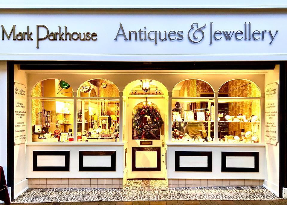 Mark Parkhouse Jewellers shop in Barnstaple