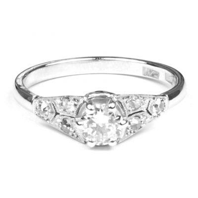 1930's Diamond Set Engagement Ring