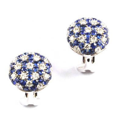 Sapphire & Diamond Starlight Earrings